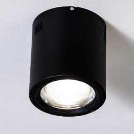 Накладной светодиодный точечный светильник 20W DB-SR165-COB-20W-B черный Diasha