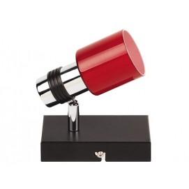 Спот HL7151 1X40W CHROME G9 красный Diasha