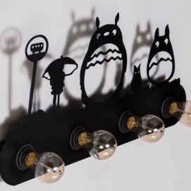 Светильник настенный W8003 черный Diasha