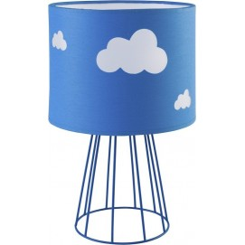 Лампа настольная 2910 синяя TK Lighting