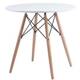 Стол обеденный Redonda 80 см белый Concepto 2018