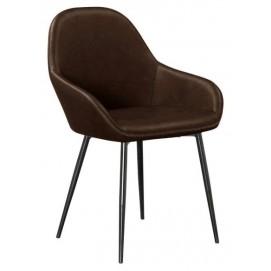 Кресло HY 7421 коричневое Primel