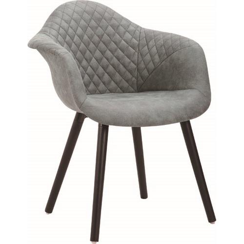 Кресло Paris/247-2 серое ноги черные Primel