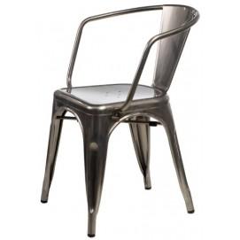 Кресло Tolix MC-005A графит Primel