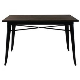 Стол обеденный Tolix MC-120W 120х70 см графит Primel