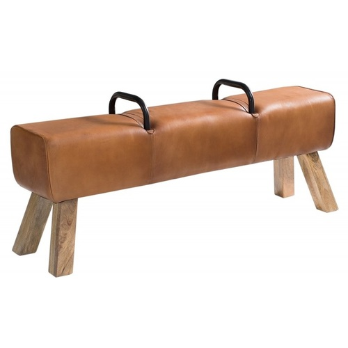 Банкетка Bock Kult 38481 светло-коричневая Invicta 2018