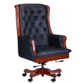 Кресло Линкольн 671-B+PVC черное 038664 Famm 2018