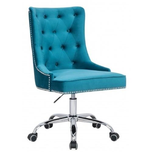 Кресло офисное Victorian Armlehne 38792 бирюза Invicta 2018