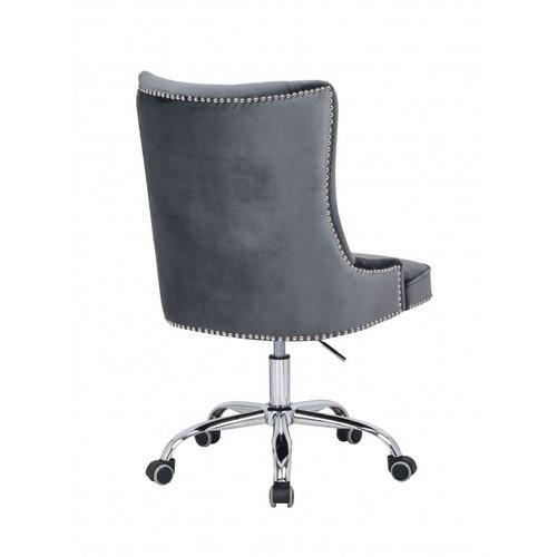 Кресло офисное Victorian Armlehne 38791 серое Invicta 2018