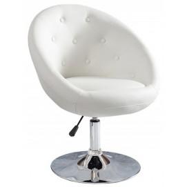 Кресло полубарное Couture 85-100cm 9985 белое Invicta 2018