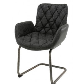 Кресло 4947/44W черное Zijlstra 2018