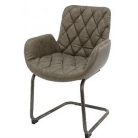 Кресло 4947/50W коричневое Zijlstra 2018