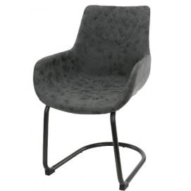 Кресло 3624/44W черное Zijlstra 2018