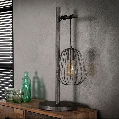 Лампа настольная 7270/29 серебро Zijlstra 2018