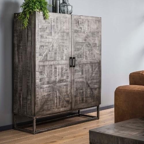 Шкаф закрытый 2286/16AG серый Zijlstra 2018