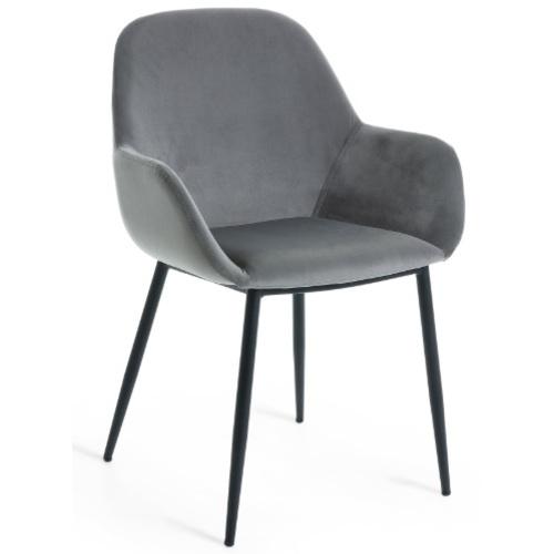 Кресло CC0934J03 - KOON серое Laforma 2018