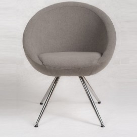 Кресло Marbino 4Н (Home) Malaga светло-серое Marbel