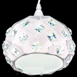 Лампа подвесная №6651/1 белая ArtGal