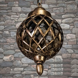 Лампа уличная DJ070-S-H GB золото Diasha