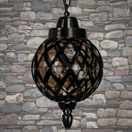 Лампа уличная DJ070-S-H B черная Diasha