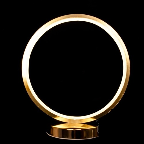 Лампа настольная D007FG золото Diasha