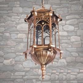 Лампа уличная DJ018-M-H GB золото Diasha