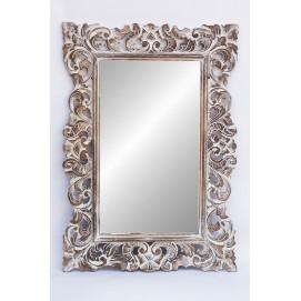 """Зеркало """"Ажур 120*90 см белое 71 205wФ2 EtnoXata"""