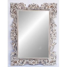 """Зеркало """"Ажур 120*90 см белое 71 205wФ1 EtnoXata"""