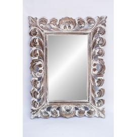 """Зеркало """"Ажур"""" 80*50см 71440 белоеФ2 EtnoXata"""