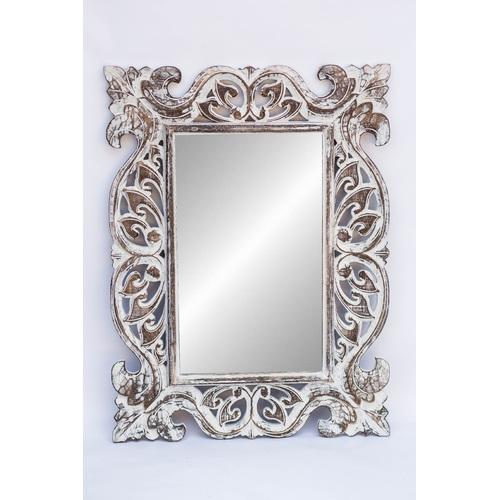 """Зеркало """"Ажур"""" 80*50см 71440 белое EtnoXata"""