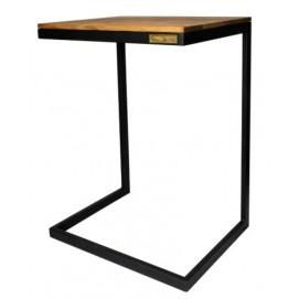 Стол приставной Окленд 67 см SS004309 натуральный Woodville 2018