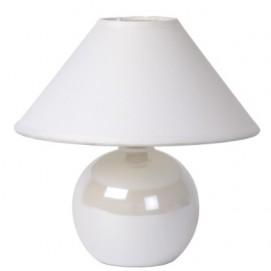 Лампа настольная FARO 20 см 14553/81/31 белая Lucide 2018
