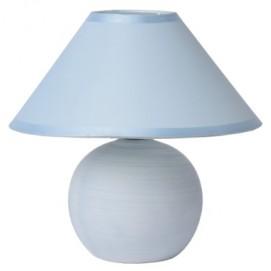 Лампа настольная FARO 20 см голубая 14552/81/35 Lucide 2018