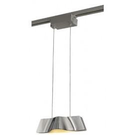 Лампа на треке 144006 WAVE серебро SLV