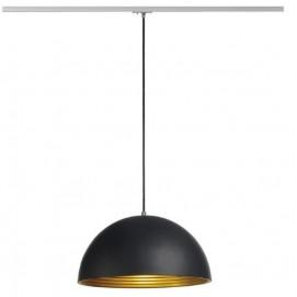 Лампа на треке 143930 FORCHINI M черная SLV