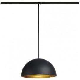 Лампа на треке 143932 FORCHINI M черная SLV