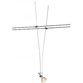 Лампа на треке 139070 CABLE LUMINAIRE черная SLV