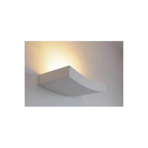 Бра 148012 PLASTRA 102 CURVE белое SLV