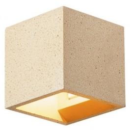 Бра 1000912 SOLID CUBE желтый SLV
