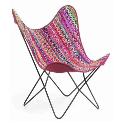 Кресло бабочка FLYNN цветное CC0352J35 Laforma 2018