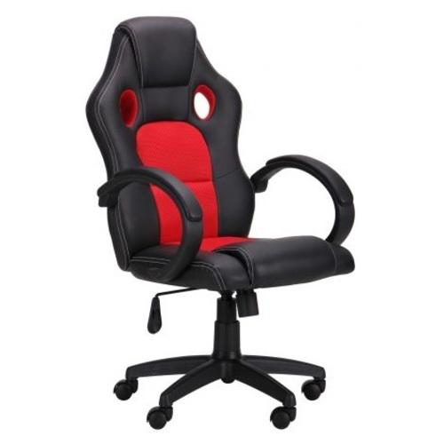 Кресло офисное Chase черно-красное 521212 Famm 2018