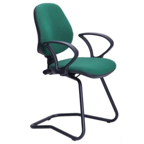 Кресло офисное Поло CF/АМФ-4 Квадро-35 зеленое 245695 Famm 2018