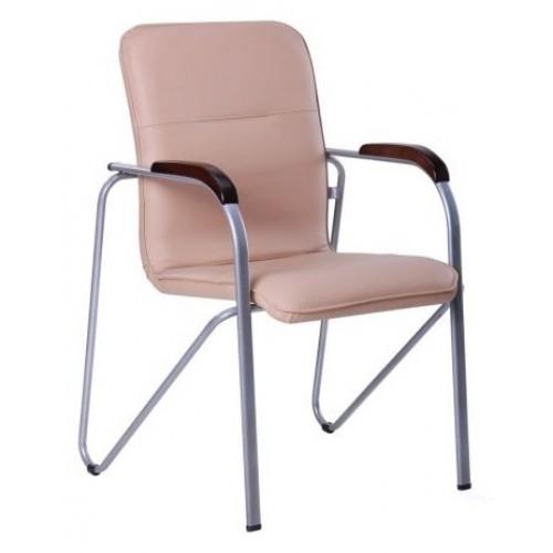 Кресло офисное Самба алюм бежевое 127120 Famm 2018