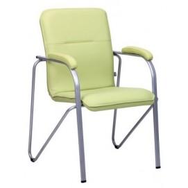 Кресло офисное Самба алюм Софт зеленое 029900 Famm 2018