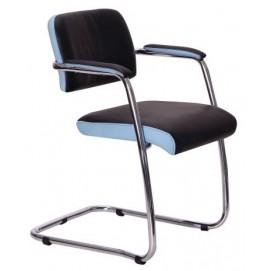 Кресло офисное Гранд хром 014723 черное Famm 2018