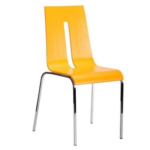 Стул Порто хром цвет RAL 1028 желтый 288147 Famm 2018