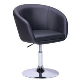 Кресло Дамкар Хром Неаполь N-20 черное 042410 Famm 2018