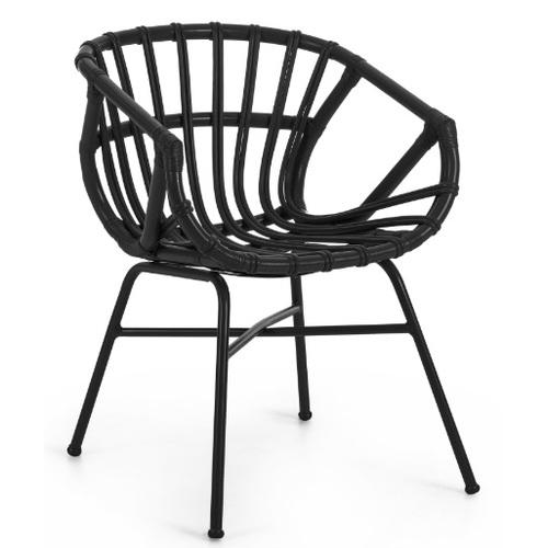 Кресло CC0692FN01 - CONSTANT черное Laforma 2018