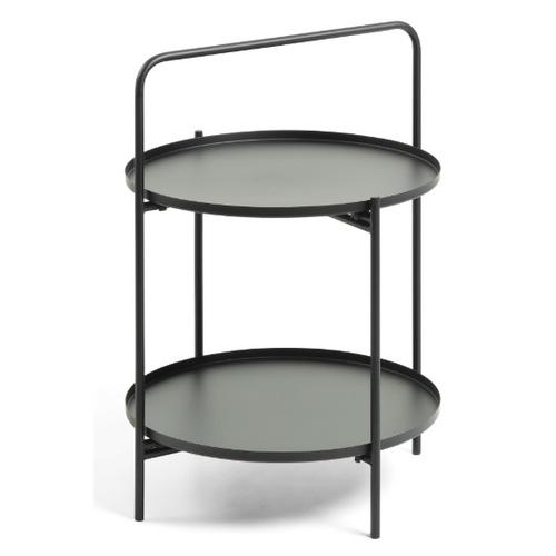 Стол кофейный CC0772R01 - ULLA черный Laforma 2018