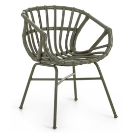 Кресло CC0692FN06 - CONSTANT зеленое Laforma 2018